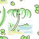 Coconut Beach 1 by Edward Huse