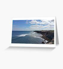 The coast near Honiton  Greeting Card