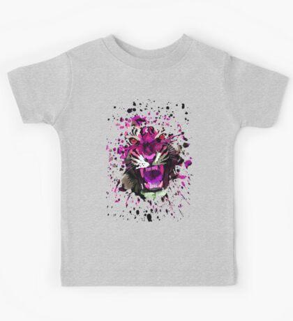 Tiger Roar (Pink) Kids Clothes