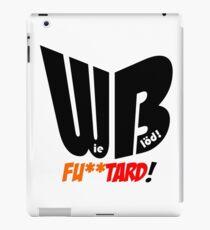 Wie Blöd - Fu**tard! iPad Case/Skin