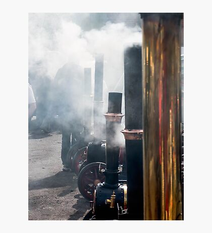 Steamy little ones  Photographic Print