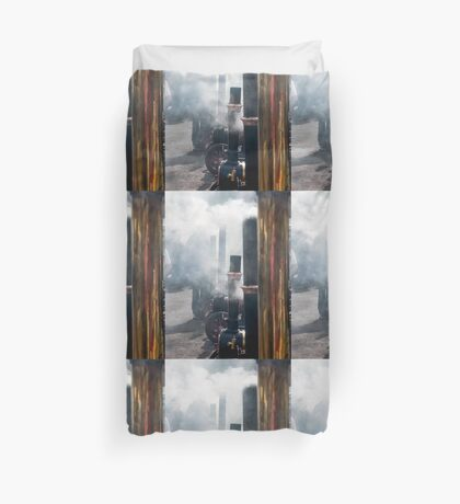 Steamy little ones  Duvet Cover