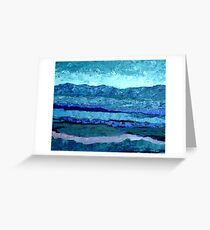 Blue View Greeting Card