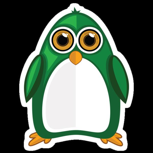 Green Penguin 2 by Adamzworld