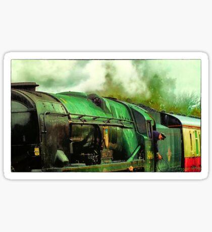 Green Steam again Sticker