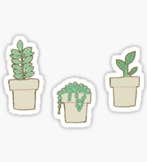 Cute Plant Stickers Sticker