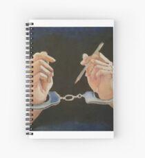 Forbidden Arts full size Spiral Notebook