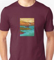 House, Trees - Conamara, Ireland Unisex T-Shirt