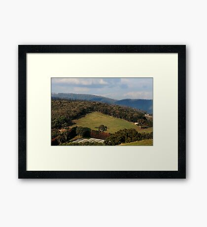 Melbourne's Country Living - Victoria Framed Print