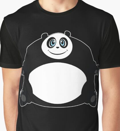 Panda Ball Graphic T-Shirt