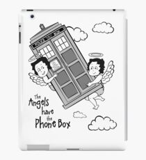 The Angels have the Phone Box - Version 3 BW (for light tees) iPad Case/Skin
