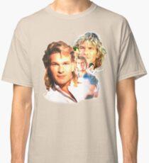 Patrick Swayze Mural Classic T-Shirt