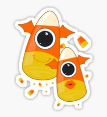 Candy Corn Monsters Sticker
