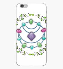 Gems And Beads iPhone Case