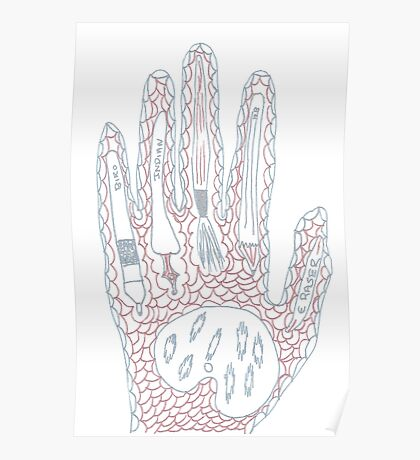 Passionate Hand Poster