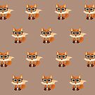 Fox Nerd  - Pattern by Adamzworld