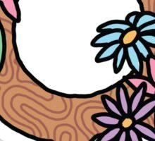 Peace Feminist Feminism Girly Flawless Sassy Girly Tumblr Flower 90s Daisy Print Sticker