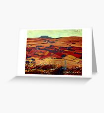 Slemish Mountain, Antrim Greeting Card