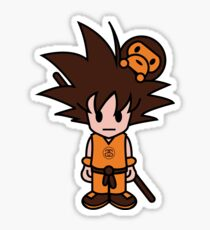 Goku - WILL NEVER KILL APE Sticker