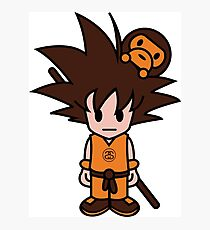 Goku - WILL NEVER KILL APE Photographic Print