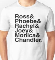 Friends - Names  Unisex T-Shirt
