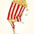 Let's All Go to the Lobby - Popcorn Girl by Kelly  Gilleran