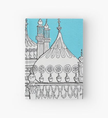 Blue Domes Hardcover Journal