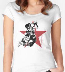 Josuke Higashikata - Jojo's Bizarre Adventure Women's Fitted Scoop T-Shirt