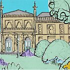 Brighton Museum & Art Gallery ( Card ) by Adam Regester