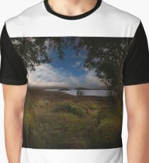 Rannock Moor and Loch Ba Graphic T-Shirt
