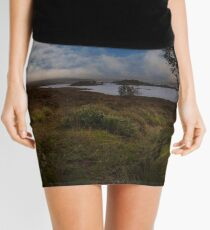 Rannock Moor and Loch Ba Mini Skirt