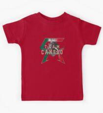 Canelo Saul Alvarez boxer Logo (T-shirt, Phone Case & more) Kids Tee