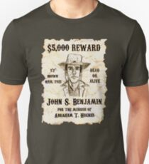 Slim Wanted Poster - Selling Silence T-Shirt