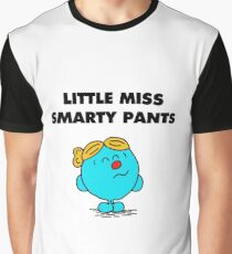 Little Miss Smarty Pants Graphic T-Shirt