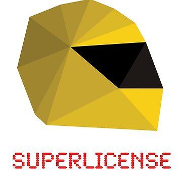 Superlicense F1 t-shirt by superlicense