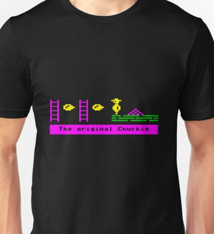The Original Chuckie Egg 8 Bit Gamer T-shirt