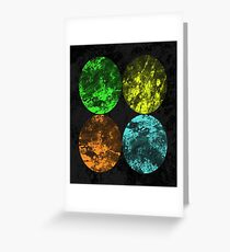 Seasons - Spring, Summer, Autumn, Winter Greeting Card