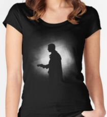 Blade Runner - Silhouette Women's Fitted Scoop T-Shirt