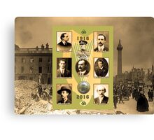 1916 - 2016 Easter Rising Centenary Canvas Print