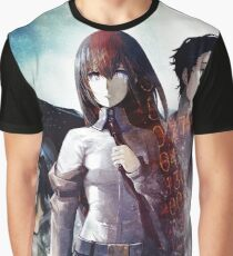 Steins Gate Kurisu, Okabe and Mayuri  Graphic T-Shirt