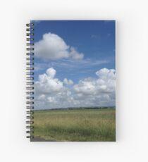 Peaceful rural scene Spiral Notebook