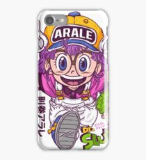 Arale - dr slump  iPhone Case/Skin