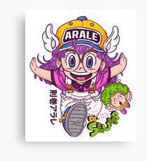 Arale - dr slump  Canvas Print
