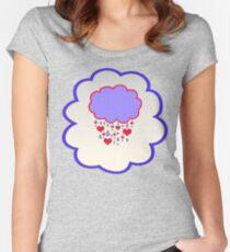 Grumpy Bear (high version) Women's Fitted Scoop T-Shirt