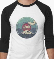 Camiseta ¾ bicolor para hombre Fuji