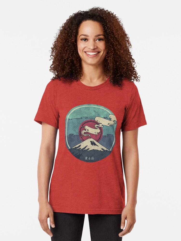 Alternate view of Fuji Tri-blend T-Shirt