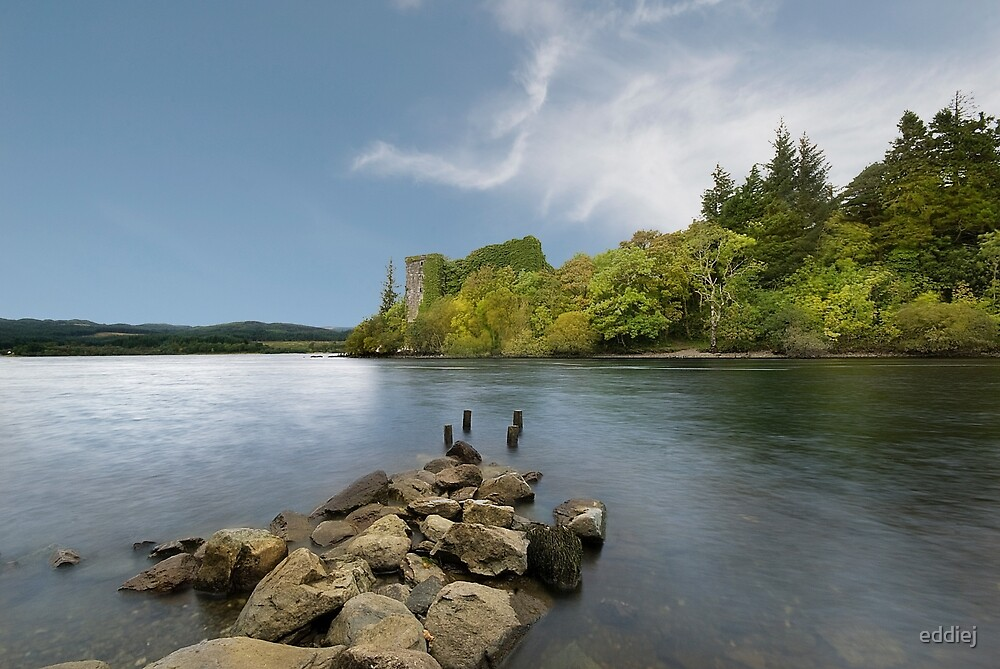 Innisconnel Castle by eddiej