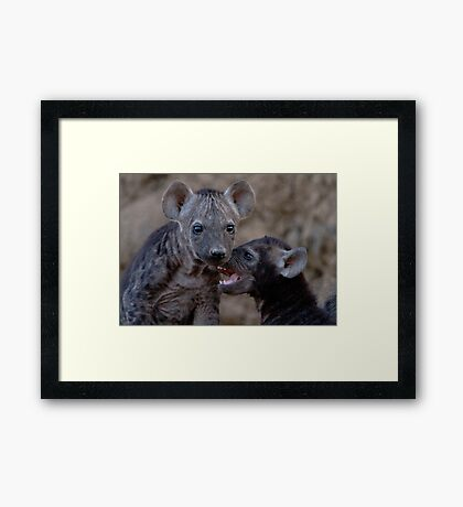 I Want To Play Now ! Framed Print