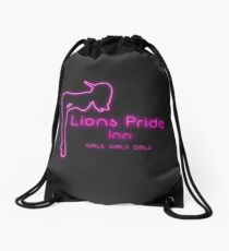 Goldshire, Lions Pride Inn (transparent) Drawstring Bag