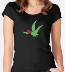 Roller Derby Pterodactyl Women's Fitted Scoop T-Shirt